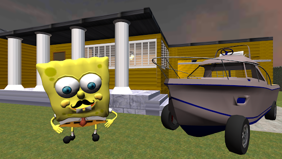Hallo Sponge Nachbar. Bob Adventures 3D Deutsch Screenshot