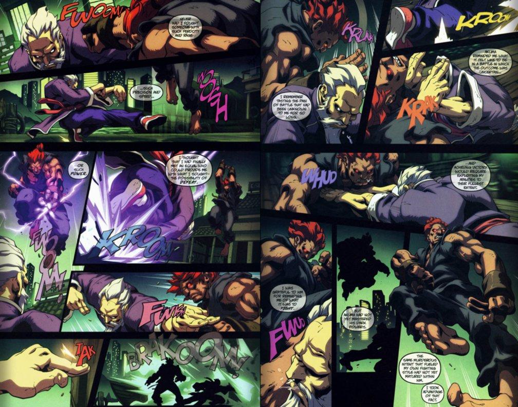 Prelude: Akuma vs Freddy Krueger by Majin123 on DeviantArt