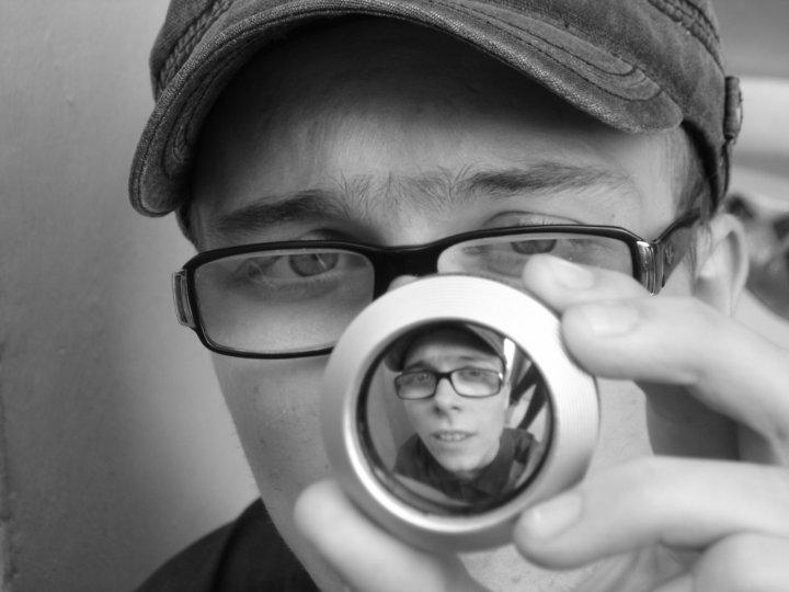 Il mondo...dentro una lente di grella