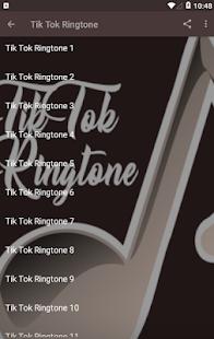 Tik Tok Ringtone App Screenshot