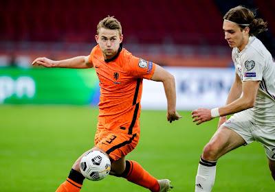 Un cadre des Pays-Bas forfait pour le premier match face à l'Ukraine