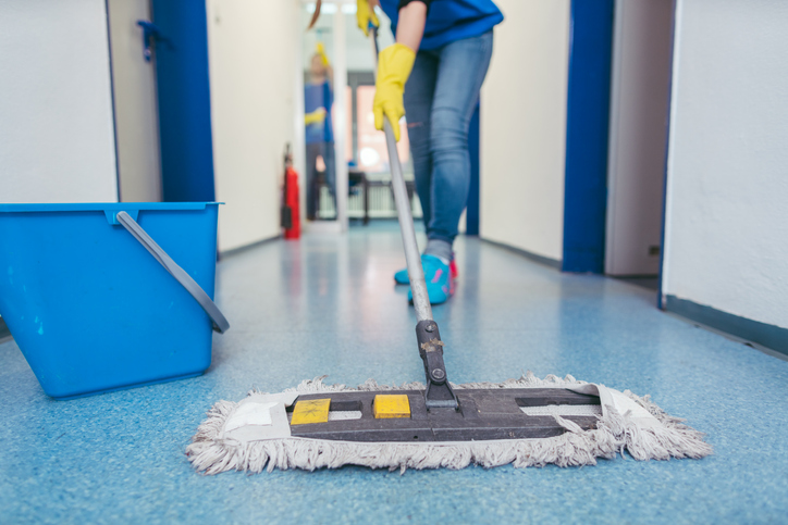 Infection Control on Campus: Disinfectant for MRSA