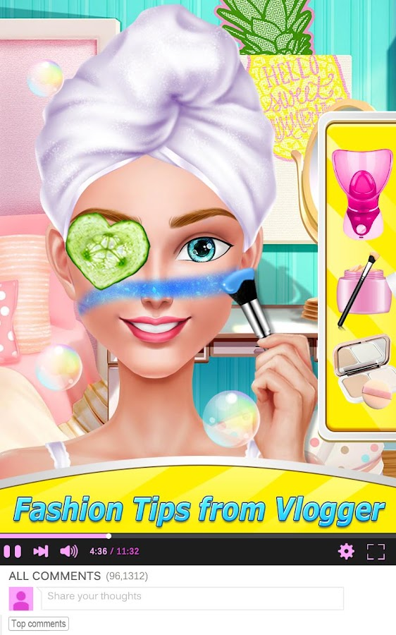 Fashion Blogger - 1 Min Makeup – Screenshot