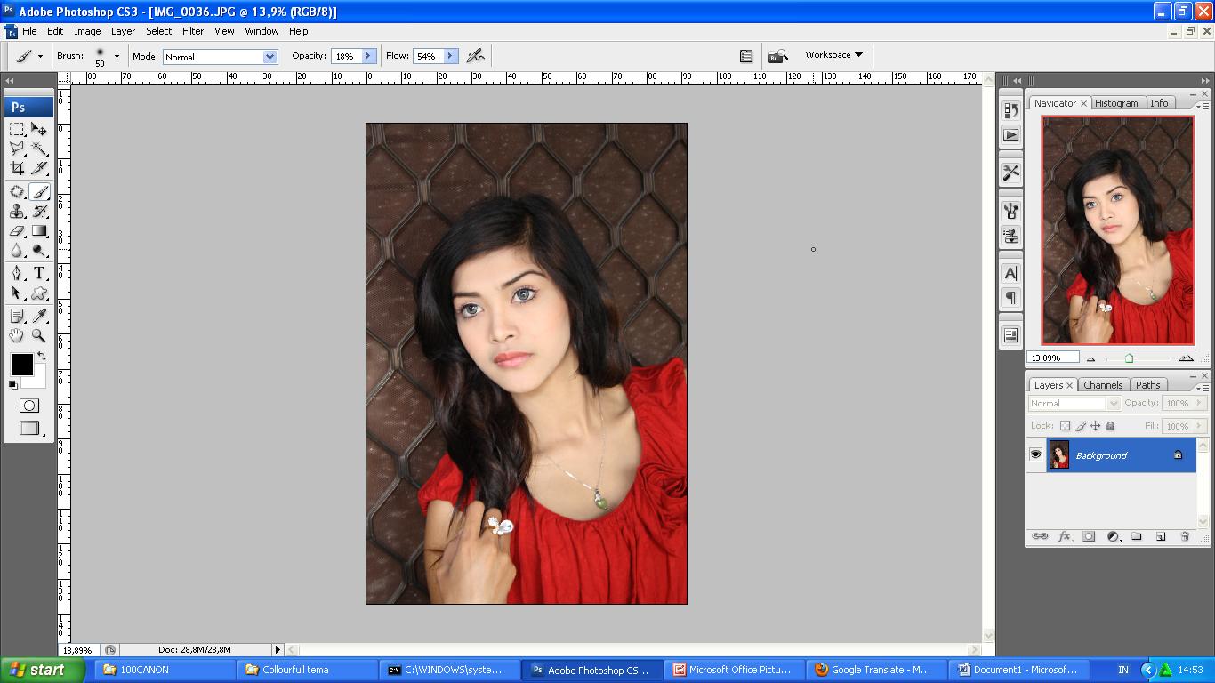 Membuat Efek Artistik HDR pada Photo