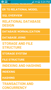 Learn DBMS Complete Guide (OFFLINE) - náhled