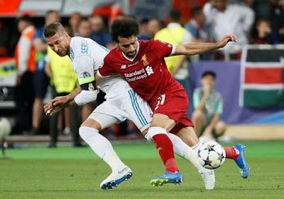 Sergio Ramos a un mot pour Mohamed Salah