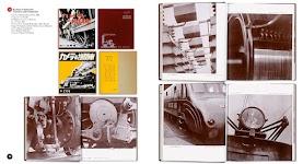10 afbeeldingen van details van lokomotieven met bijbehorende Japanse tekst uit 'Kamera to Kikansha'
