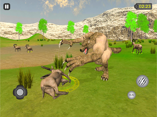 jungle werewolf monster rpg -bigfoot forest hunter android2mod screenshots 8