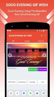Good Evening GIF Wish