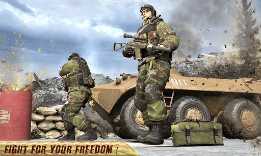 Freedom Forces Battle Shooting - Gun War 1.0.8 screenshots 7
