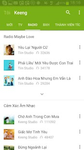 Keeng – Music with new friend- screenshot thumbnail