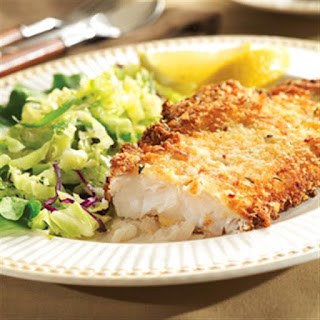 Potato-Crusted Fish Fillets Recipe