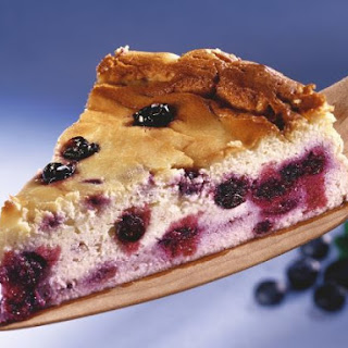 Soft Cheese Gateau with Berries.