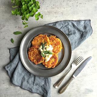 Quinoa, Butternut Squash & Gorgonzola Burgers