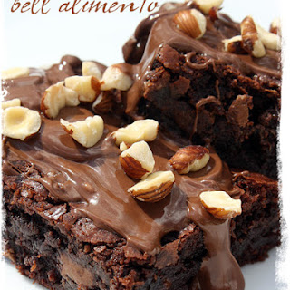 Nutella Caramel Hazelnut Brownies Recipe