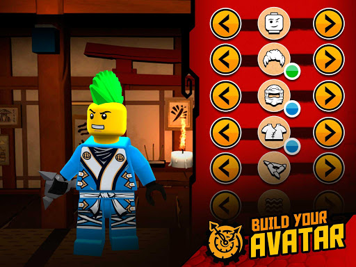 THE LEGO® NINJAGO® MOVIE™ app screenshot 15