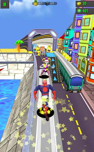 Subway Spider-Run Adventure World 2.2 screenshots 2