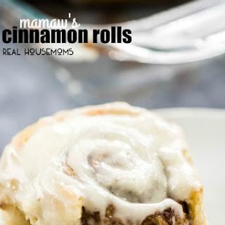 Mamaw'S Cinnamon Rolls Recipe