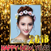 New Year Photo Frame 2018