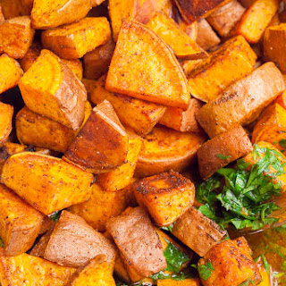 Mediterranean Sweet Potato Salad