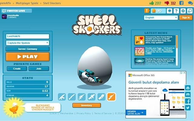 Shell Shockers online spiele