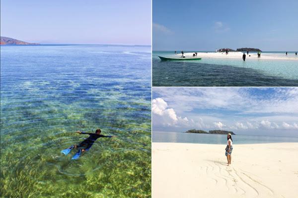 Pulau Timbul Meko Flores