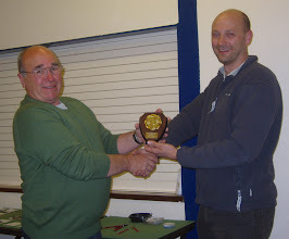 Photo: Club Artefact 1st - Tony Brown - presented by Kurt Adams