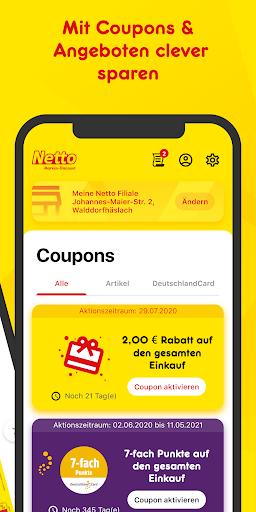 Netto: Angebote & DeutschlandCard Punkte einlösen  screenshots 3