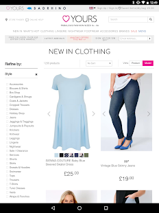 yours - plus-size clothing - android apps on google play