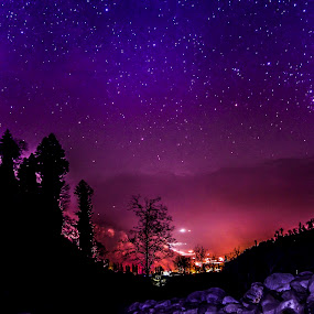 by Ketan Kunte - Landscapes Starscapes ( stars, long exposure, night, landscape )
