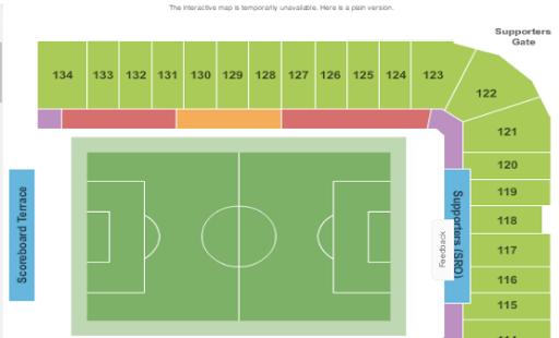 Soccer Tickets App - náhled