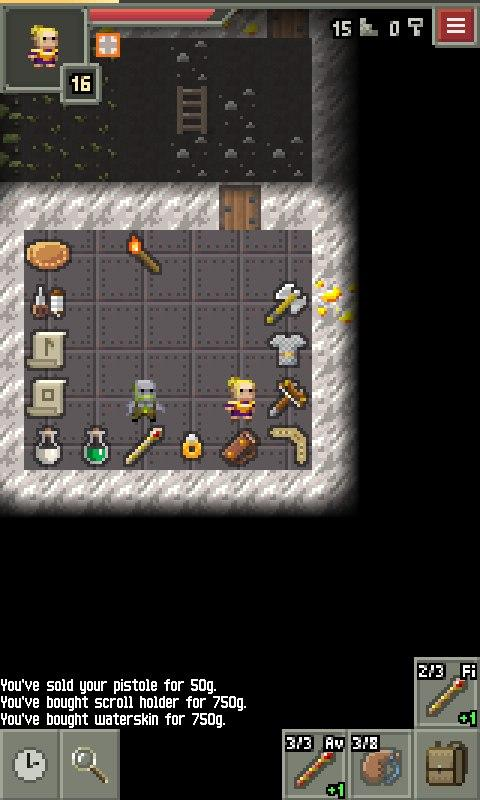 Yet Another Pixel Dungeon- screenshot