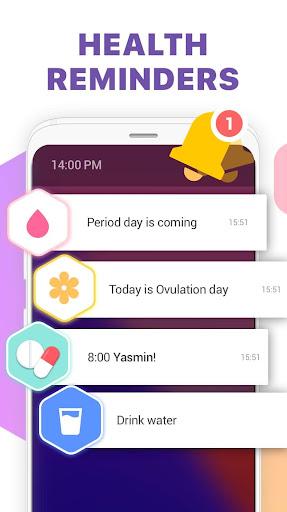 Period Tracker, Ovulation Calendar & Fertility app 1.1.8 screenshots 4