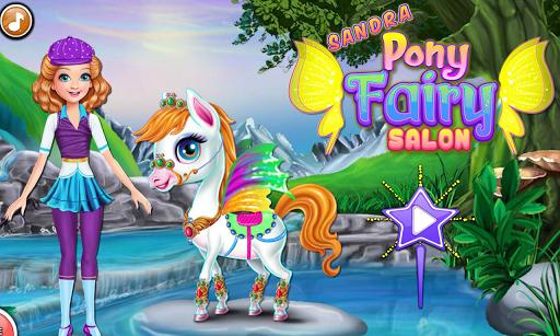 Sandra Pony Fairy Salon 1.0.5 screenshots 8