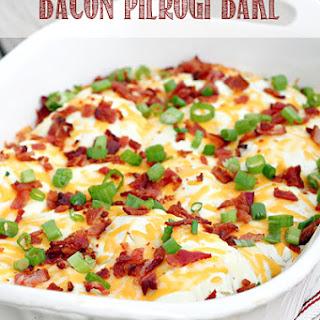 Bacon Pierogi Bake.