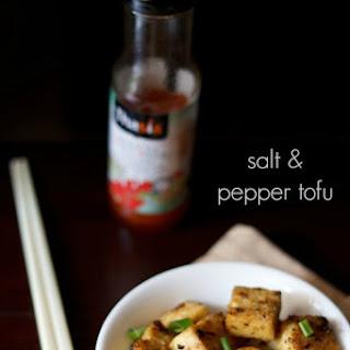 Chinese Salt And Pepper Tofu