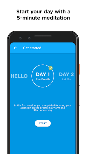 Mindfulness App screenshot 2
