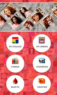 Photo Collage Square Editor Pip Collage Maker Alkalmazasok A