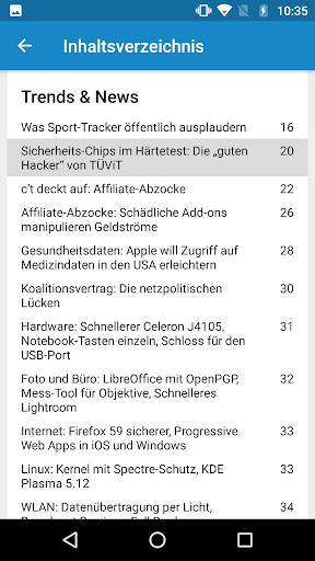 c't Magazin 3.4.7 screenshots 5