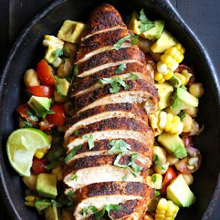 Blackened Chicken Fiesta Salad