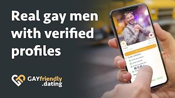screenshot of Gay guys chat & dating app - GayFriendly.dating