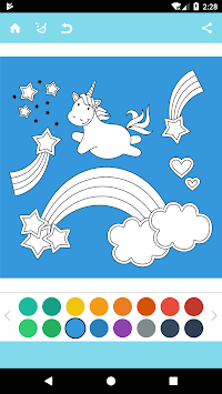 Unicorn Coloring Book APK screenshot thumbnail 9