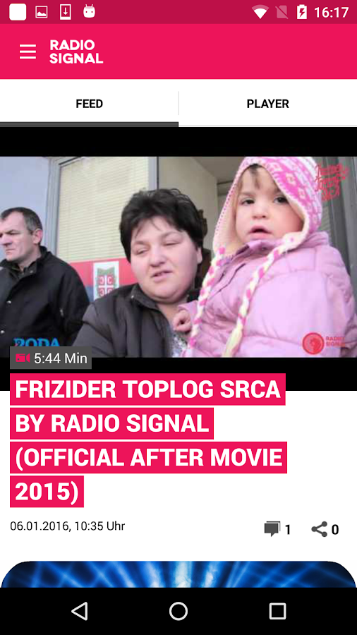 Radio Signal -To je taj osećaj- screenshot