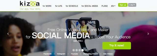 Kizoa - create image presentations | Webriology