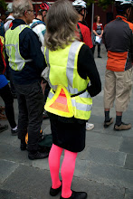 Photo: Bike to Work 12: Visiblity is her Thing