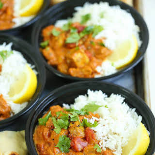 Chicken Tikka Masala Meal Prep.