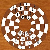 Chess Circular 2 Player Logic Game
