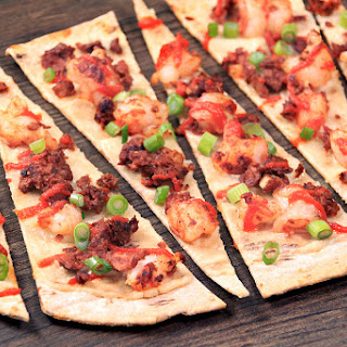 Chorizo Shrimp Flatbread