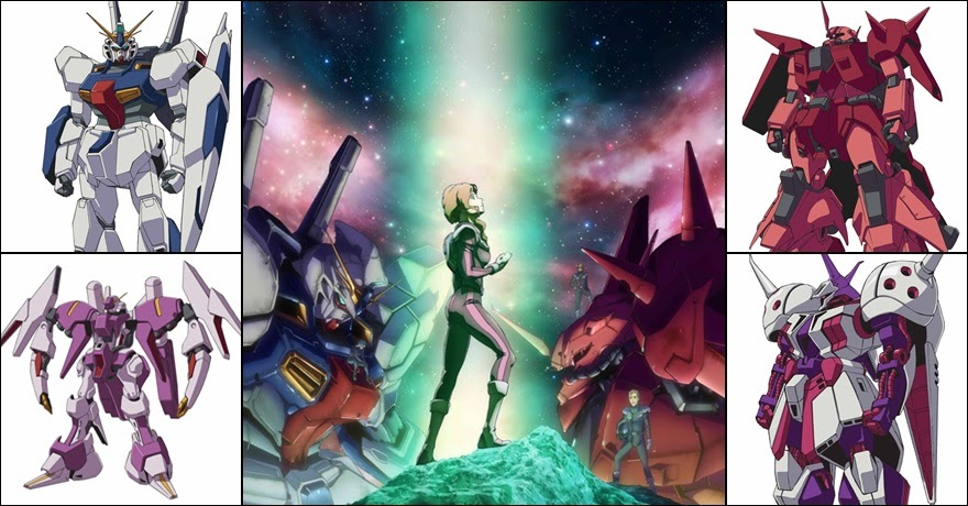 Mobile Suit Gundam Twilight AXiS ภาพพร้อมข้อมูลชุดใหม่ล่าสุด!