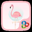 Flamingo  GO Launcher Theme icon